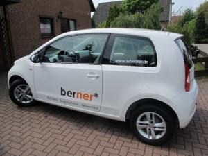 Ein Seat mii mit SV Berner Branding