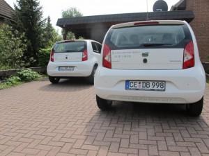 Zwei Seat mii mit SV Berner Branding