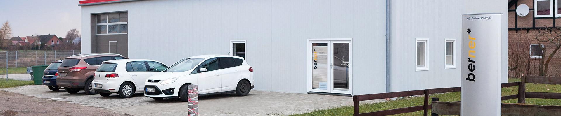 Eine Außenansicht vom SV Berner Firmensitz